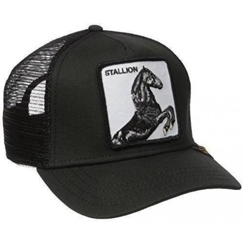 Gorra Goorin Bros Stallion Black Animal Farm Trucker Hat