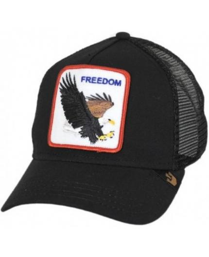 Goorin Bros Freedom Black Animal Farm Trucker Hat