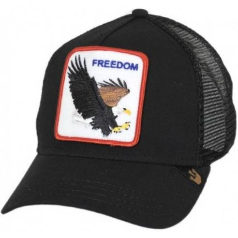 Gorra Goorin Freedom Black Animal Farm Trucker Hat