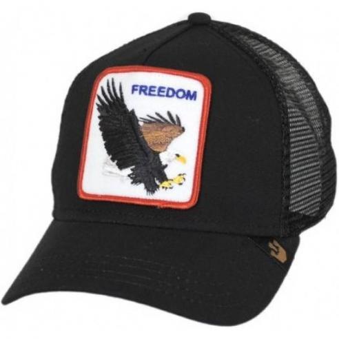 Gorra Goorin Freedom Black Animal Farm Trucker Hat