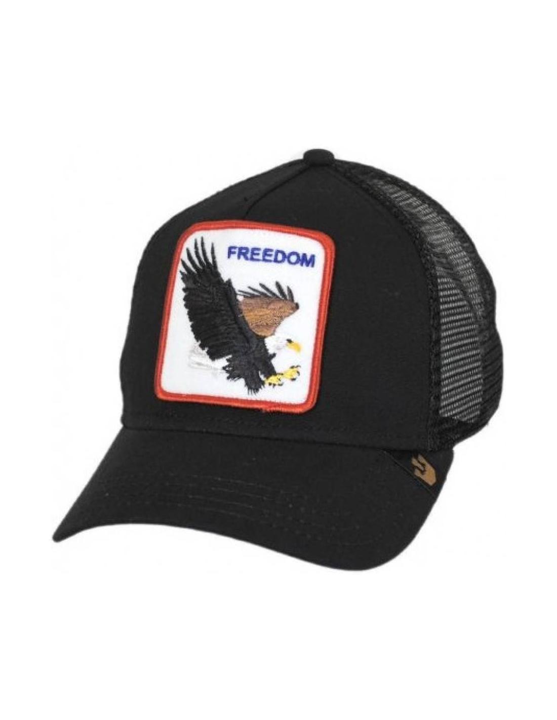 c3358e85edcb6 Gorra Goorin Freedom Black Animal Farm Trucker Hat
