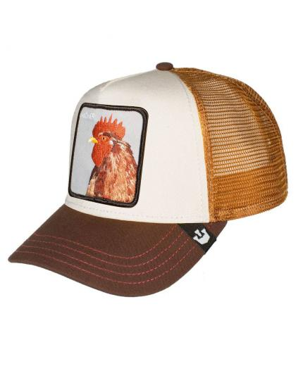 Gorra Goorin Bros Peck Peck Yellow Animal Farm Trucker Hat