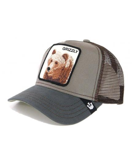 Goorin Bros Grizzly Olive Animal Farm Trucker Hat