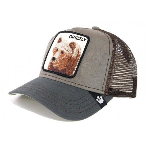 Goorin Bros Grizzly Olive Animal Farm Trucker Hat