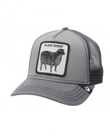 Goorin Bros Shades Of Black Grey Animal Farm Trucker Hat