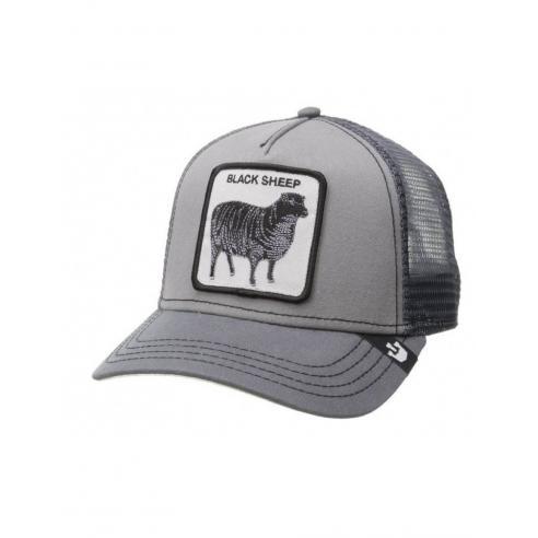 Goorin Bros Shades Of Black Grey Animal Farm Trucker Hat