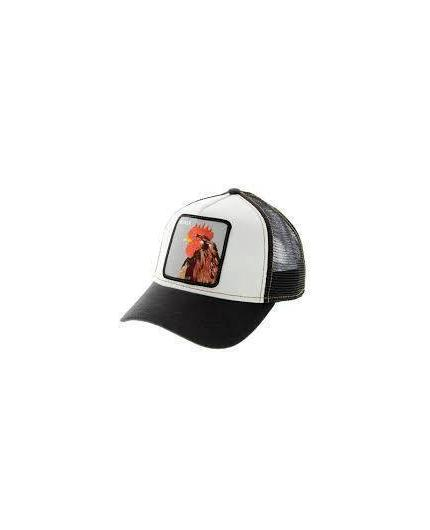 Goorin Bros Plucker Black Animal Farm Trucker Hat