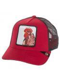 Gorra Goorin Bros Plucker Red Animal Farm Trucker Hat