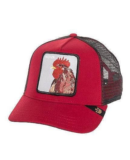 Goorin Bros Plucker Red Animal Farm Trucker Hat
