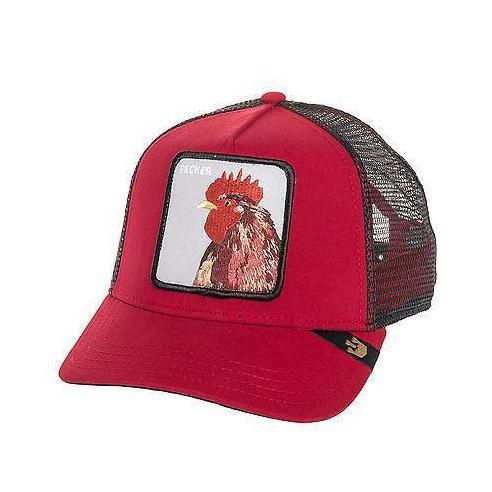 Goorin Bros Plucker Red Animal Farm Trucker Hat