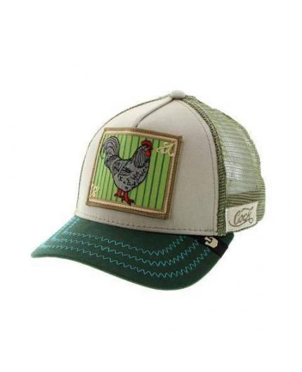 Gorra Goorin Bros Pecker Khaki Animal Farm Trucker Hat