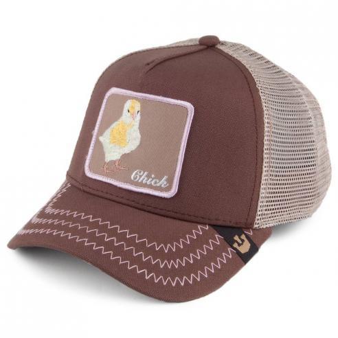 Goorin Bros Chicky Boom Brown Animal Farm Trucker Hat