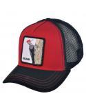 Goorin Bros Woody Wood Red Animal Farm Trucker Hat