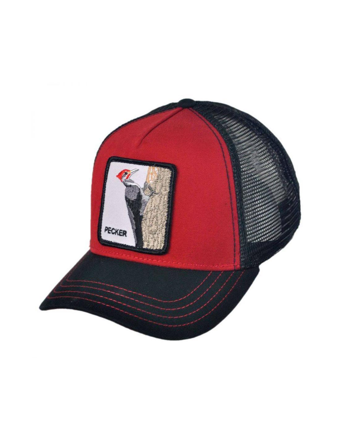 42aabf459df Goorin Bros Animal Farm Trucker Hat Woody Wood Red