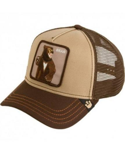 Gorra Goorin Bros Lone Star Brown Oso