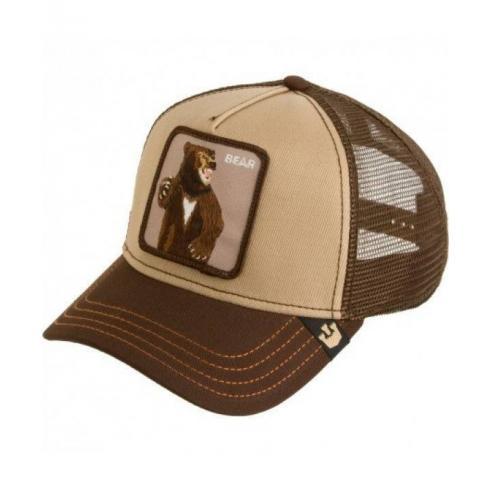 Gorra Goorin Bros Lone Star Brown Animal Farm Trucker Hat