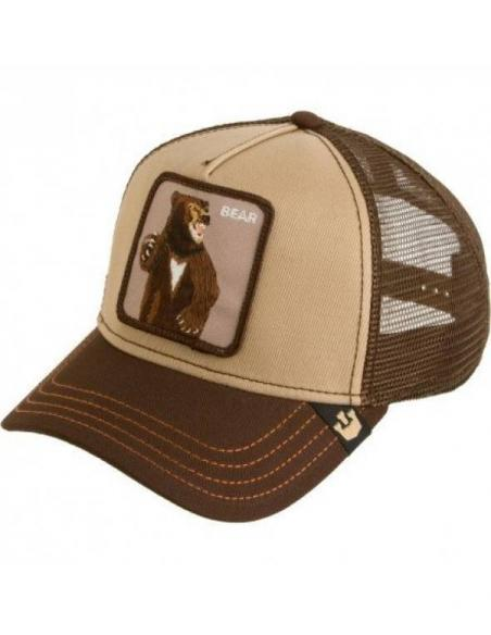 Gorra Goorin Bros Lone Star Brown Animal Farm Trucker Hat