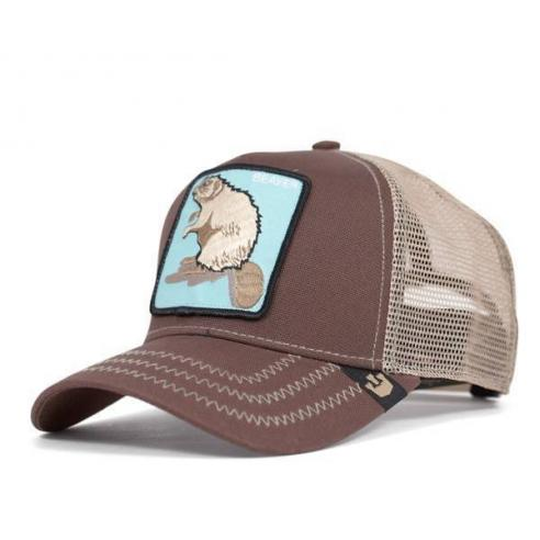 Goorin Bros Beaver Brown Animal Farm Trucker Hat
