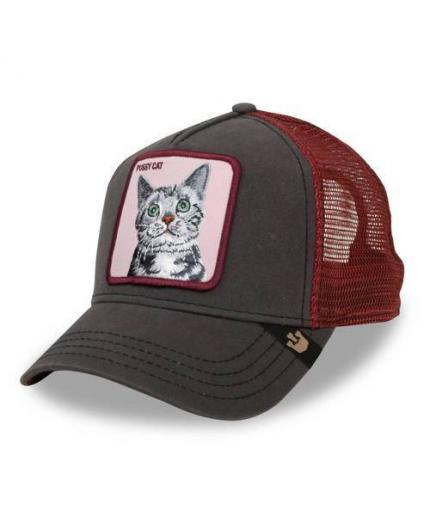 Gorra Goorin Bros Whiskers Brown Animal Farm Trucker Hat