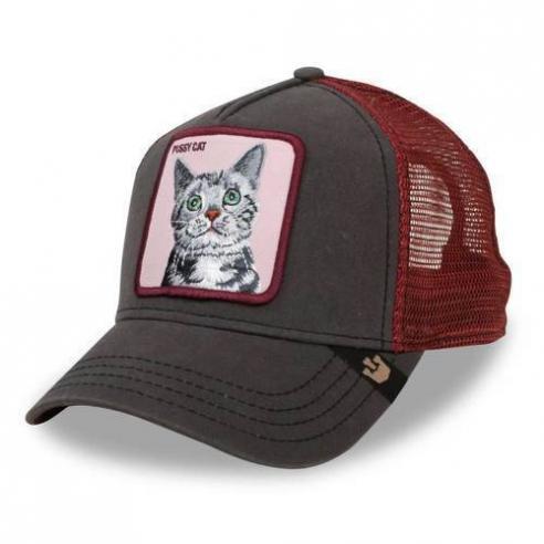 Gorra Goorin Bros Whiskers Brown Animal Farm Trucker Hat