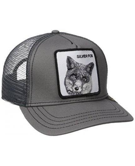Gorra Goorin Bros Silver Fox Grey Animal Farm Trucker Hat