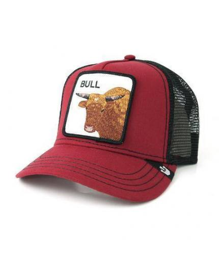 Gorra Goorin Bros Bull Red Animal Farm Trucker Hat