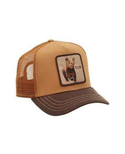Gorra Goorin Bros Cub Brown Animal Farm Trucker Hat