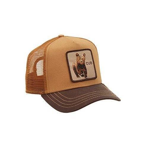 Goorin Bros Cub Brown Animal Farm Trucker Hat