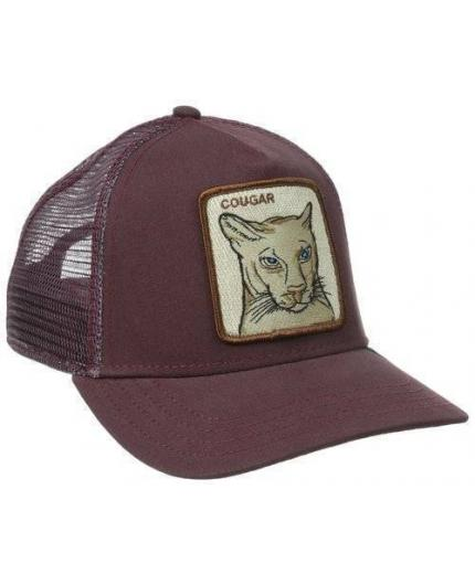 Gorra Goorin Bros Cougar Maroon Animal Farm Trucker Hat