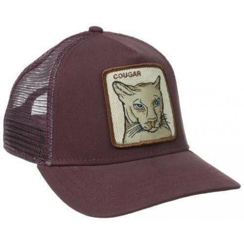Gorra Goorin Bros Cougar Maroon Animal Farm Trucker Hat