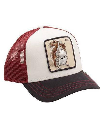 Gorra Goorin Bros Bonkers White Animal Farm Trucker Hat