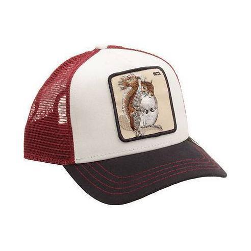 Goorin Bros Bonkers White Animal Farm Trucker Hat