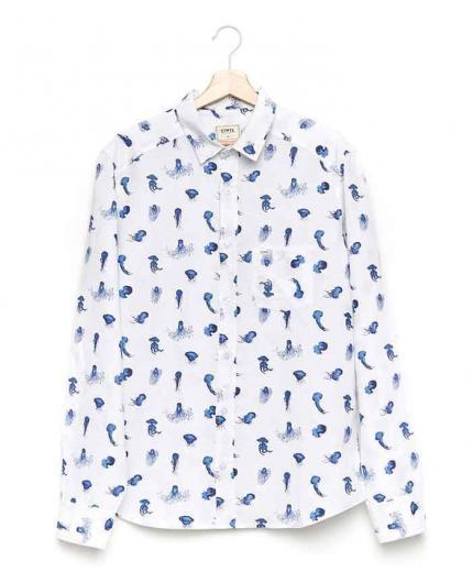 Tiwel Scifo White Shirt