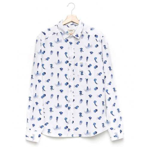 Camisa Tiwel Scifo White