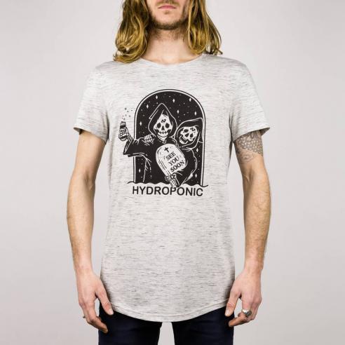 Camiseta Hydroponic See you soon heather grey