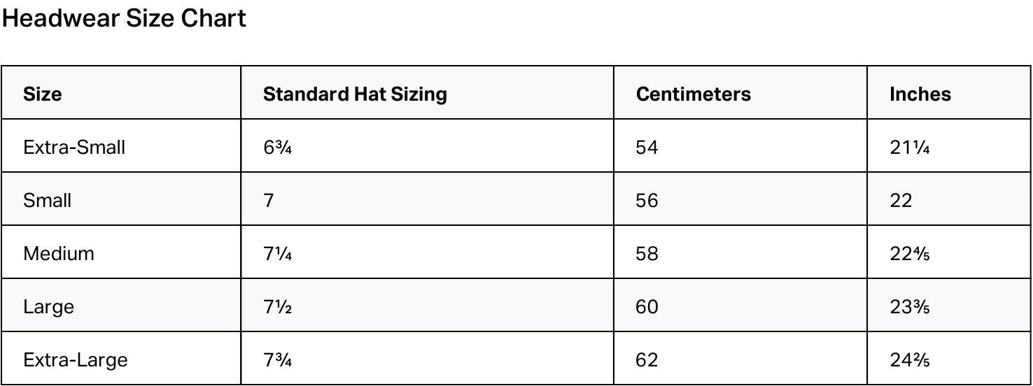 brixton size chat hats