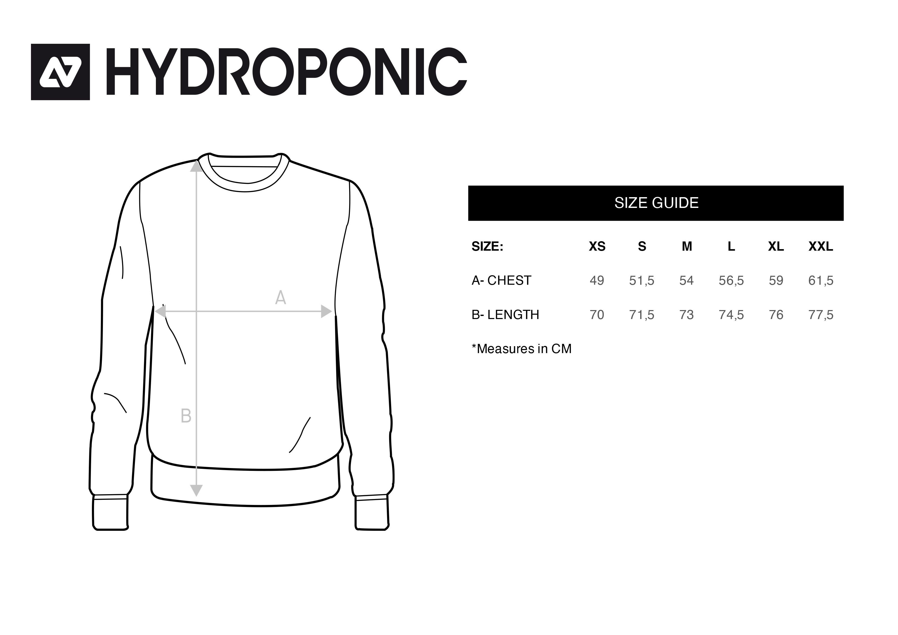 tallas punto hydroponic
